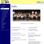 Musikverein Lyra Eggenstein e.V. - Internetseite (2. Version)